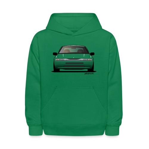 Subaru Alcyone SVX Modern JDM Icon Sticker - Kids' Hoodie