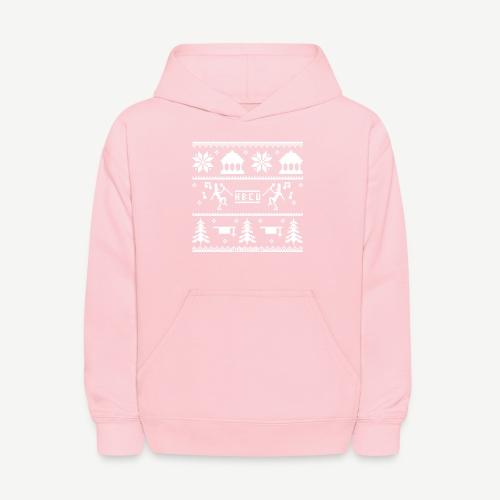 HBCU Ugly Christmas Sweater - Kids' Hoodie