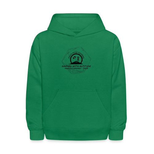 Pikes Peak Gamers Convention 2018 - Clothing - Kids' Hoodie