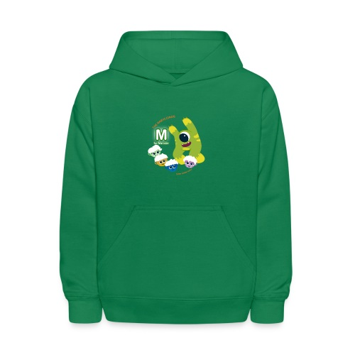 The Babyccinos M for Monster - Kids' Hoodie