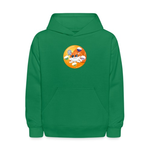 The Babyccinos The letter С - Kids' Hoodie