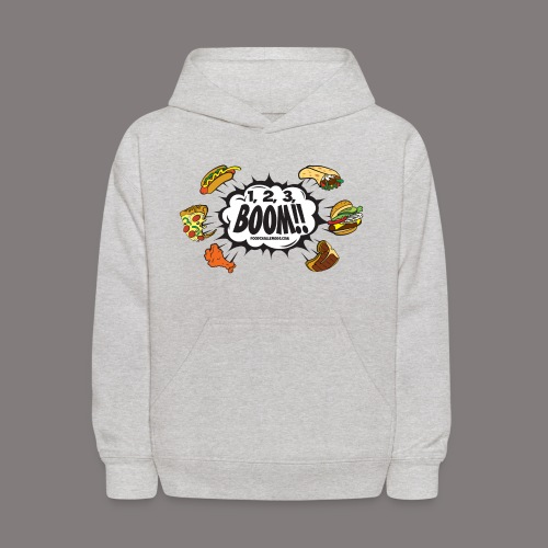 123_BOOM_FINAL Spreadshir - Kids' Hoodie