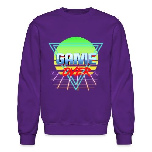 game over - Unisex Crewneck Sweatshirt