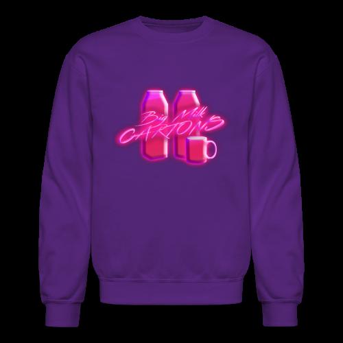BigMilkCartons Pink Logo - Crewneck Sweatshirt