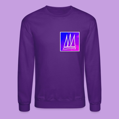 Abstract Banner - Crewneck Sweatshirt