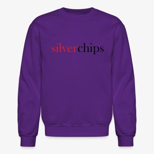 SilverChips Logo - Unisex Crewneck Sweatshirt