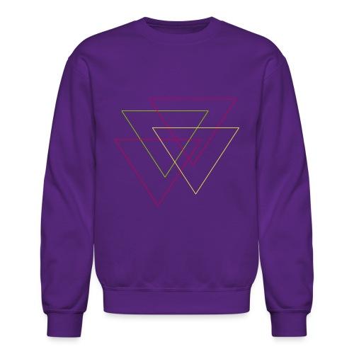 triangles - Unisex Crewneck Sweatshirt