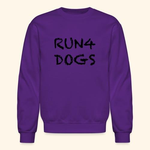 RUN4DOGS NAME - Crewneck Sweatshirt