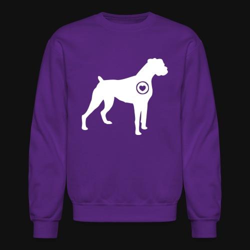 Boxer love - Crewneck Sweatshirt
