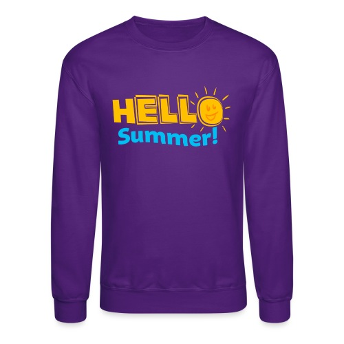Kreative In Kinder Hello Summer! - Crewneck Sweatshirt