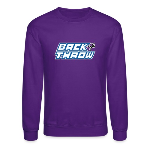 Back Throw Logo - Crewneck Sweatshirt
