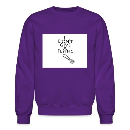 I Don't Give A Flying Fork - Crewneck Sweatshirt