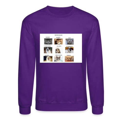 MOOD BOARD - Unisex Crewneck Sweatshirt