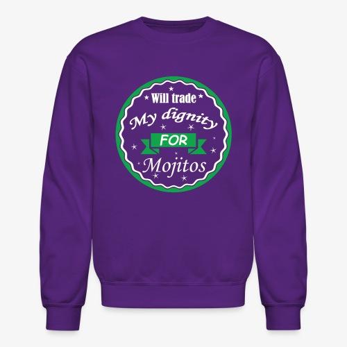 Trade dignity for mojitos - Crewneck Sweatshirt