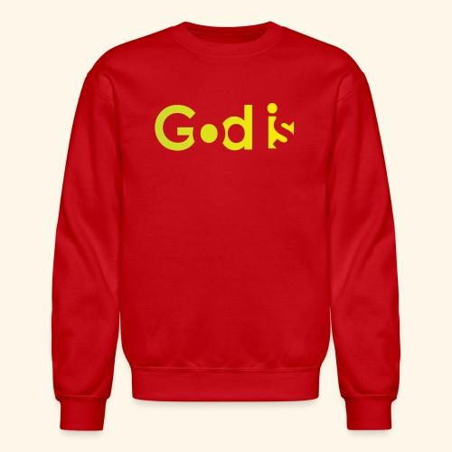 GOD IS #7 - Crewneck Sweatshirt