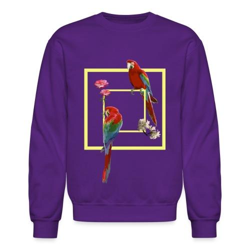 parrots - Unisex Crewneck Sweatshirt
