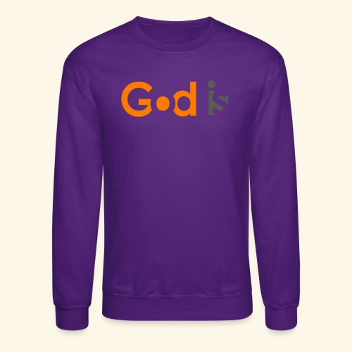 GOD IS #6 - Crewneck Sweatshirt
