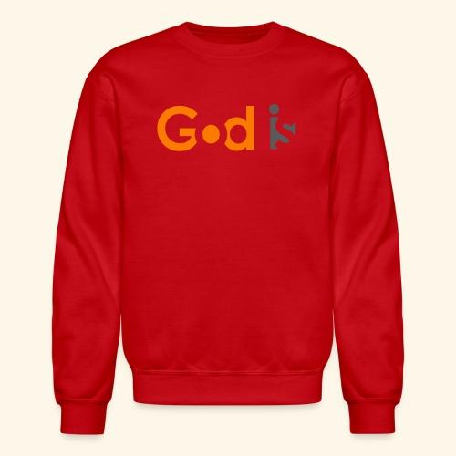 GOD IS #6 - Crewneck Sweatshirt