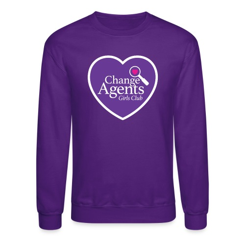 Change Agents Girls Club - Unisex Crewneck Sweatshirt