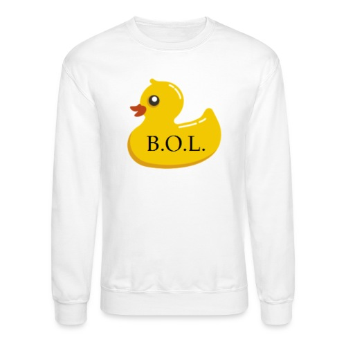 Official B.O.L. Ducky Duck Logo - Crewneck Sweatshirt