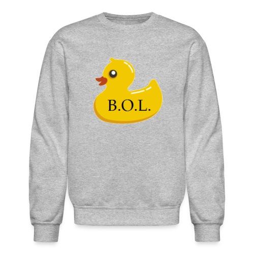 Official B.O.L. Ducky Duck Logo - Crewneck Sweatshirt
