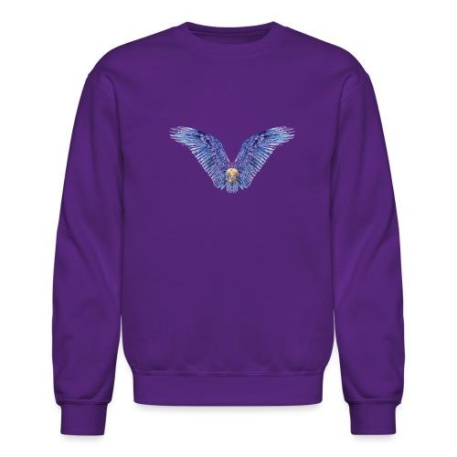 Wings Skull - Crewneck Sweatshirt