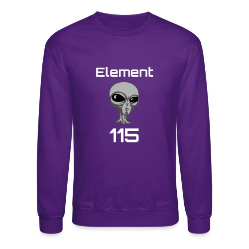Element 115 Moscovium Alien Fuel - Crewneck Sweatshirt