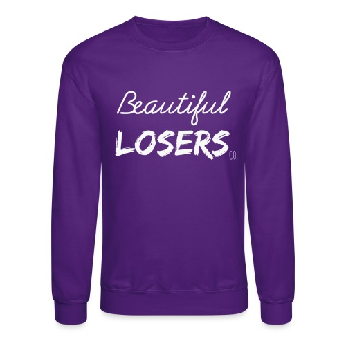 White Beautiful Losers - Unisex Crewneck Sweatshirt