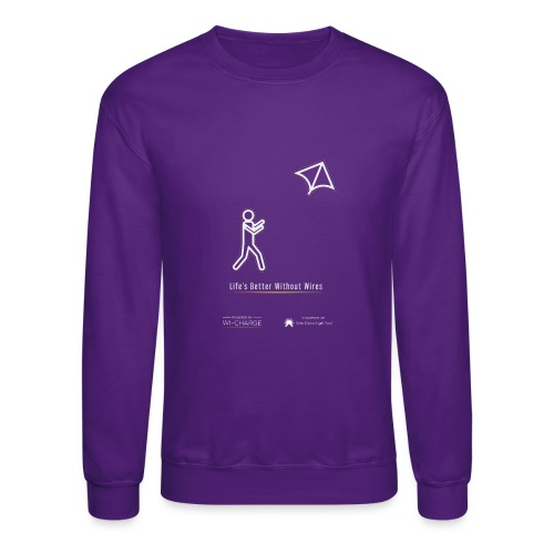 Life's better without wires: Kite - SELF - Crewneck Sweatshirt