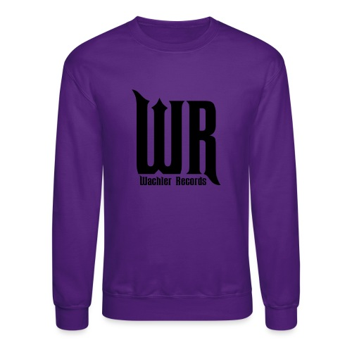 Wachler Records Dark Logo - Crewneck Sweatshirt