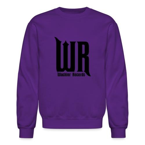 Wachler Records Dark Logo - Unisex Crewneck Sweatshirt