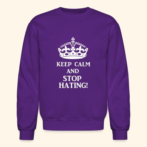 stoph8ingwht - Crewneck Sweatshirt