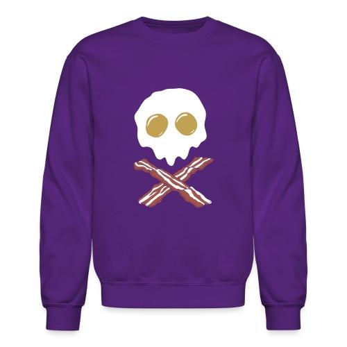 Breakfast Skull - Unisex Crewneck Sweatshirt