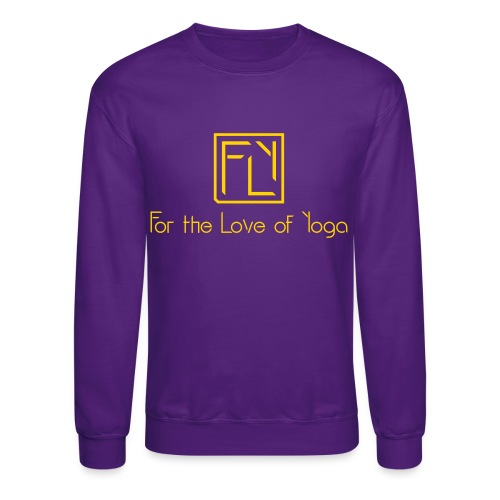 For the Love of Yoga - Unisex Crewneck Sweatshirt