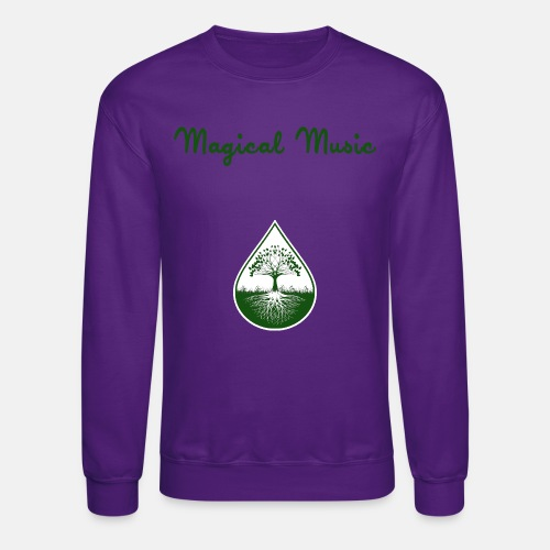 magical_music_text_green - Crewneck Sweatshirt