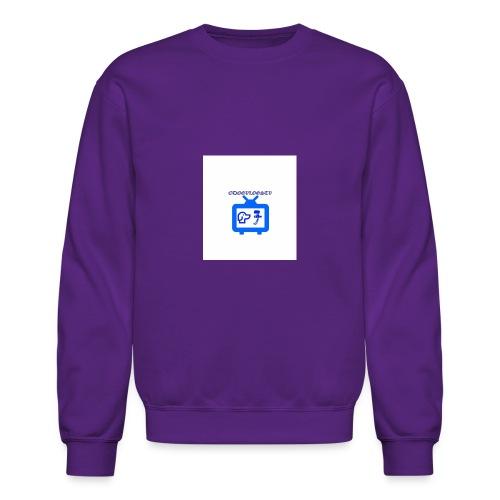 OdogVlogsTv Offical Logo - Crewneck Sweatshirt