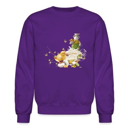 easter bunny easter egg holiday - Unisex Crewneck Sweatshirt
