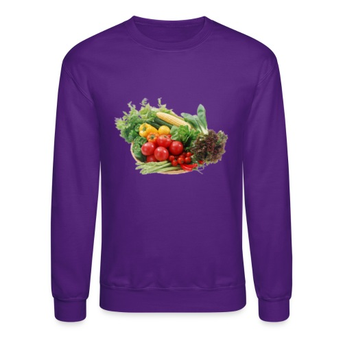 vegetable fruits - Unisex Crewneck Sweatshirt