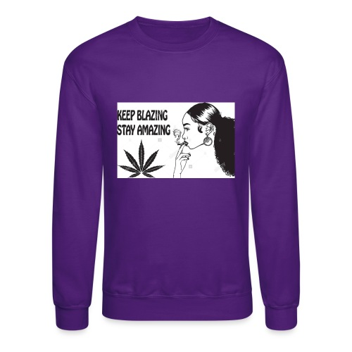 Keepblazin - Unisex Crewneck Sweatshirt