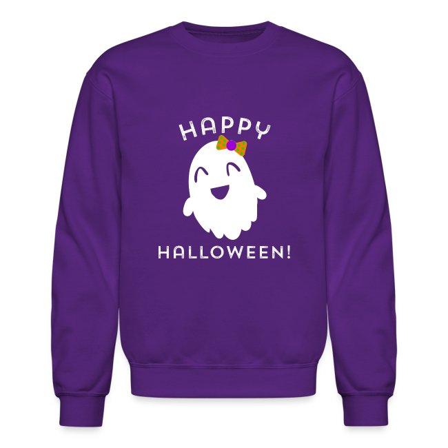 Happy Halloween Ghost Design - Cute Halloween
