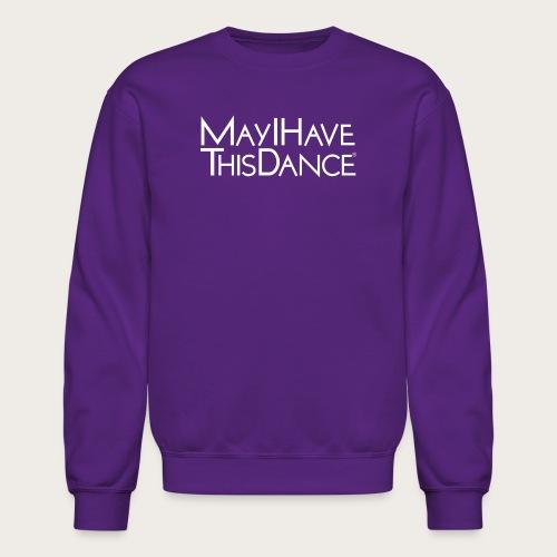 MAYI white logo - Unisex Crewneck Sweatshirt