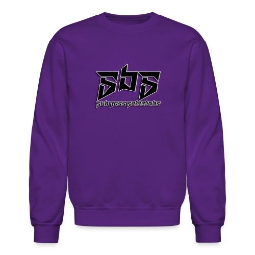 SbS Music Black Logo - Unisex Crewneck Sweatshirt