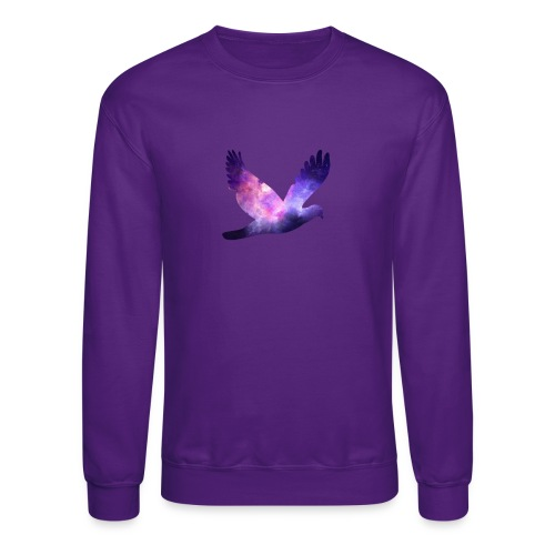 Galaxy bird - Crewneck Sweatshirt