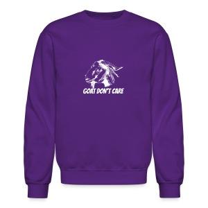 Vector Goat Farm Animal white 2 - Crewneck Sweatshirt