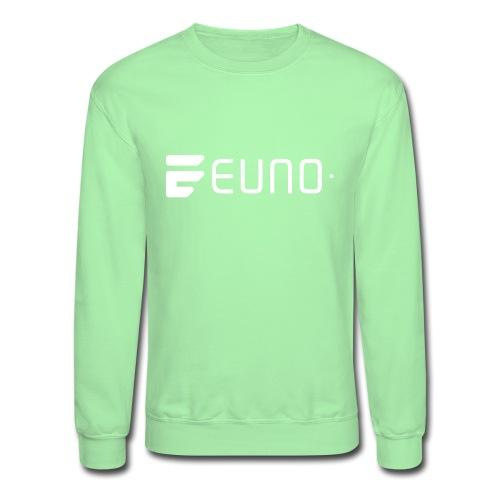 EUNO LOGO LANDSCAPE WHITE - Unisex Crewneck Sweatshirt