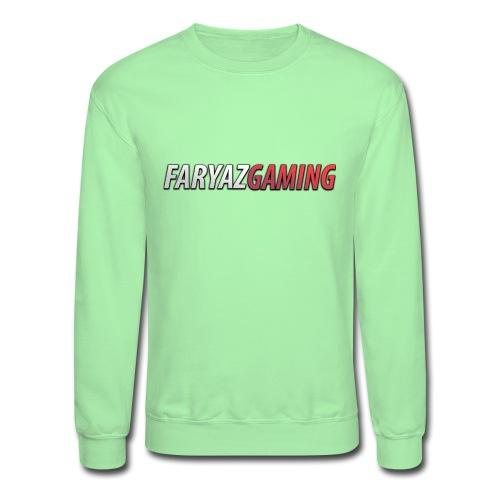 FaryazGaming Text - Unisex Crewneck Sweatshirt