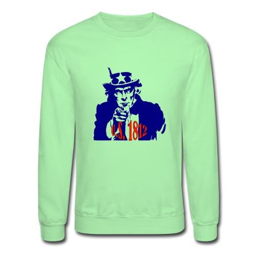 uncle-sam-1812 - Unisex Crewneck Sweatshirt