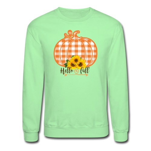 Hello Fall! - Unisex Crewneck Sweatshirt