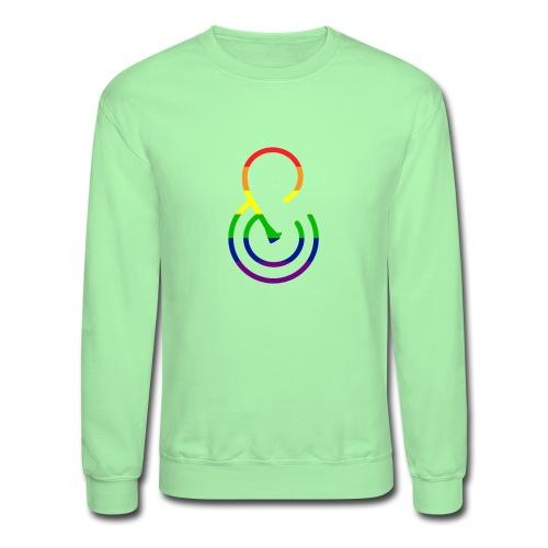 PROUD (&) - Unisex Crewneck Sweatshirt