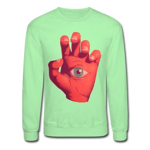 EYE HAND - Unisex Crewneck Sweatshirt